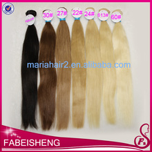 Top grade factory price 100% real hair wholesale hair weave #30 color