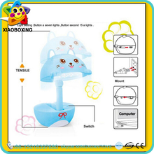 Educational toy touch led rechargeable battery operated cartoon table lamp