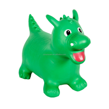 RUNYUAN Custom Hopping Dragon Toys Gift Ride Deer Inflatable Jumping Dragon for Kids
