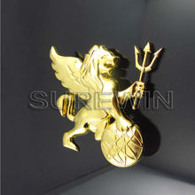 Nice Brass metal Lions of Kings Scutcheon