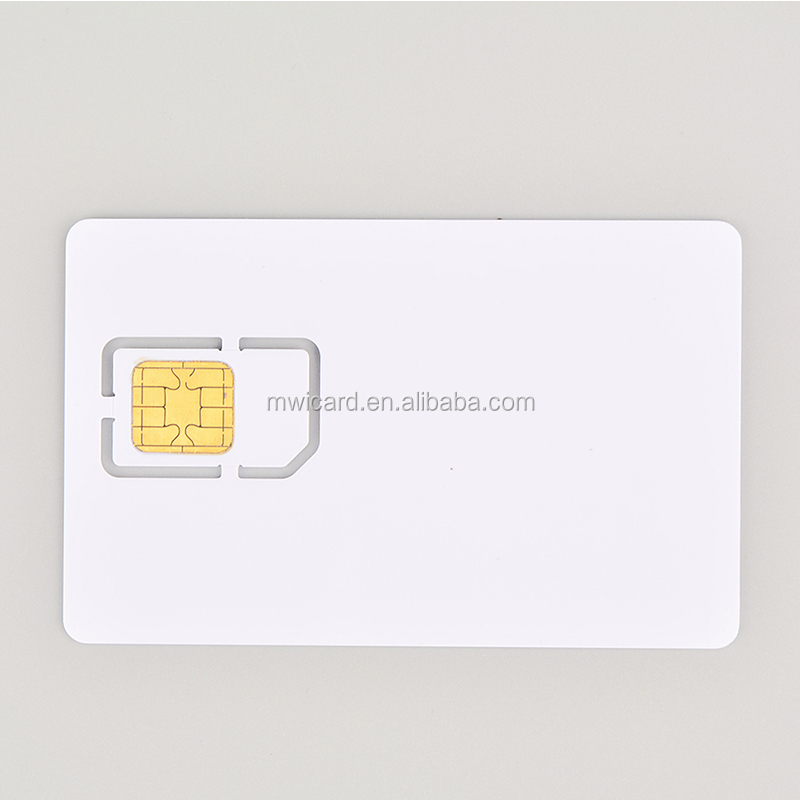 Government Project 16k/32k/40k/64k CPU Contact Smart Card Compliant with ISO/IEC 7816