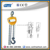 Chain block SL-A type lifting equipment pulley hand pullying chain hoist