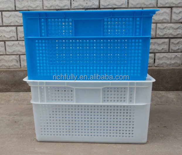 Cheap price Dislocation Nestable Plastic Vegetable Crates, Tomato Crates