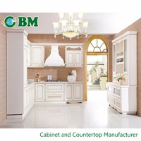 New Classic wood Kitchen Cabinet Made In China