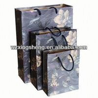 2014 HOT!! fashion paper Gift shopping Bags for apparel party paper bag