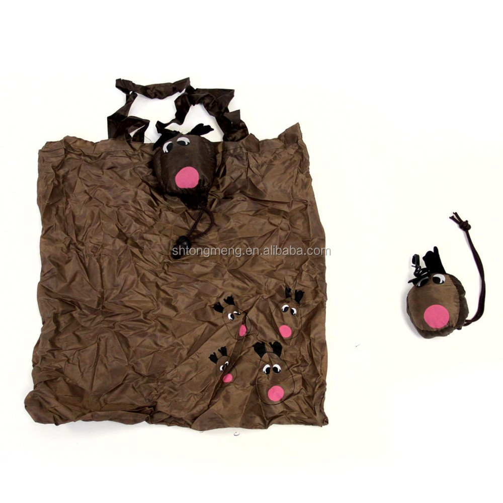Alliance black cute cat animal shape tote shopping bag