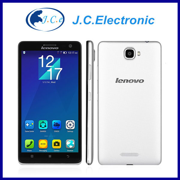 Lenovo S856 4G FDD LTE Snapdragon 400 Quad Core Android 4.4 IPS 1280X720 1GB RAM 8GB ROM 8MP Dual Sim Mobile Phone