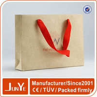 a3 standard size decorative kraft paper bag for gift