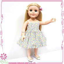 hot sell vinyl moving heads dolls 18 inch wholesale