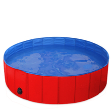 Folding Swimming Pet Pool, Summer 2019 Waterproof Dog Pools for Large Dogs