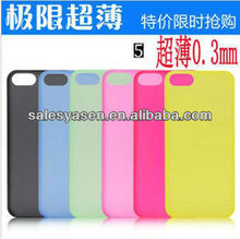 Accessory for iphone 5 cases with candy color