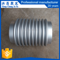 8 inch welded stainless steel conduit fitting metallic bellow expansion joint