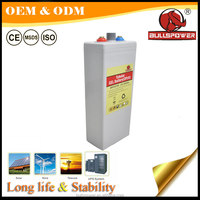 Long Life Lead acid Solar Tubular Gel battery 1000AH 2000AH OPzV Battery 2V 350ah