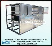 5 Tons Commercial Ice Cube Machine with Economic Bagging System