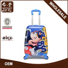High quality cute cartoon kids school character trolley bags