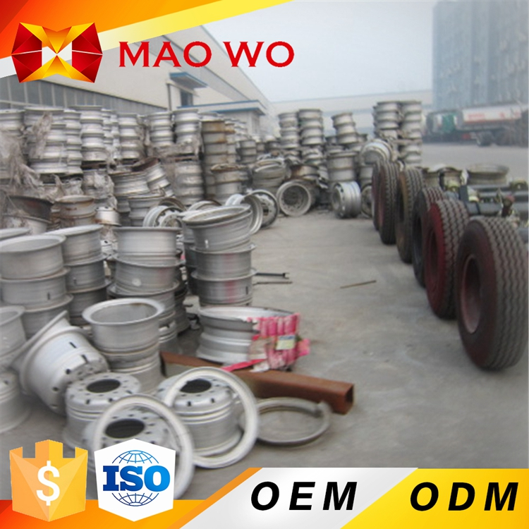 Factory commercial truck aluminum alloy wheel for tipping trailer