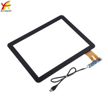 "Waterproof 15"" touch screen with USB interface thin screen multi touch panel for atm"