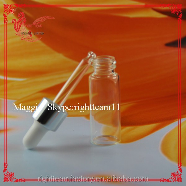clear vial sample vial essence oil container