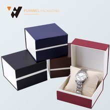 China supplier customized paper watch box custom printed, watch paper box