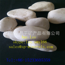 China Factory Supply High Quality Smooth Snow White Garden Pebbles With Loweest Price and High Trade Assurance