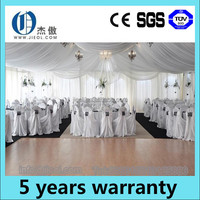 Luxury wedding party tent with wedding chair, pipe and drape