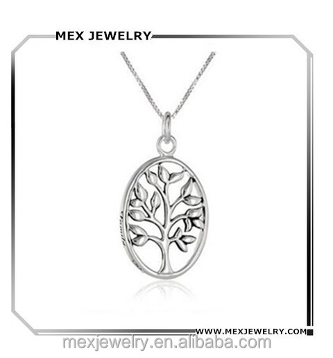 "Sterling Silver ""Family. My Pride and Joy"" Family Tree Pendant Necklace"