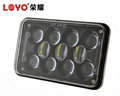 Square 4x6 LED Headlight with DRL for 4X4 Truck, offroad Vehicle, Tractor