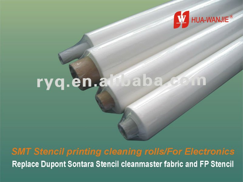 Replace Dupont Sontara SMT stencil cleaning fabric