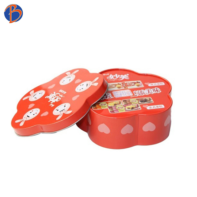 sweet packing boxes tin box flower