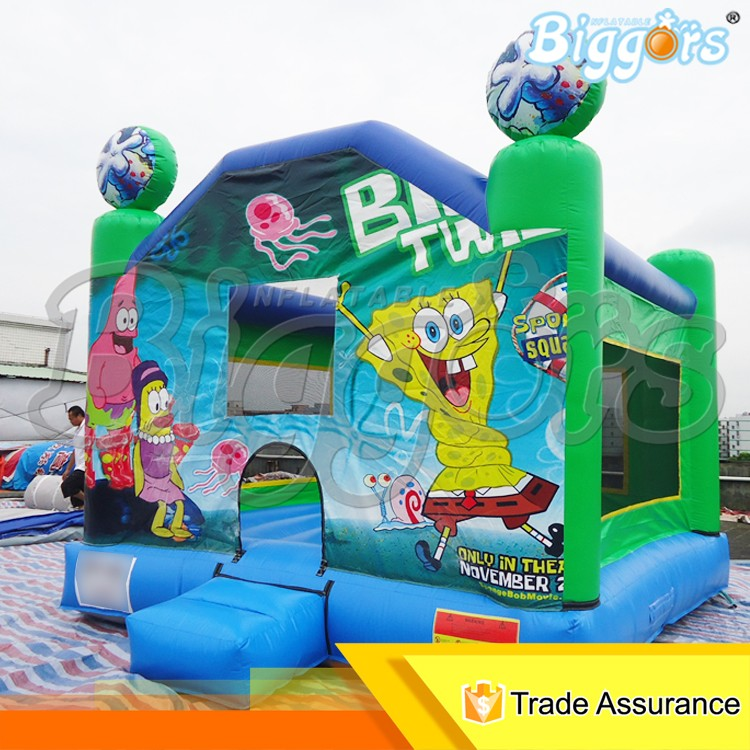 Outdoor Cheap Inflatable Jumper Bouncer Moonwalk for Sale