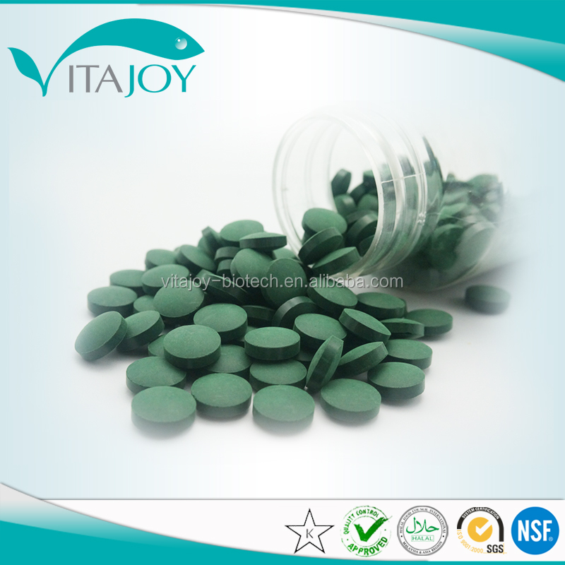 High quality herbal extract spirulina & ginseng tablet