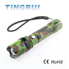 Powerful Camouflage Military Swat Tactical Police Flashlight