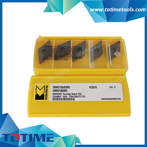 Type of Kennametal Turning Inserts DBMG150402/4305MS KC5010