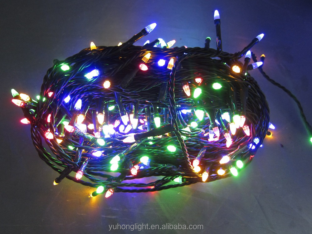 New Christmas Light 300 LED Warm White Multicolor Elite Fairy Lights