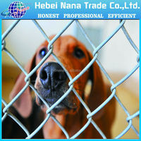 Hot dipped galvanised high strength dog wire fence