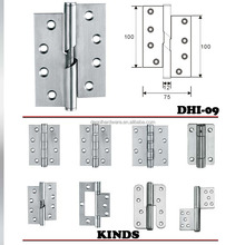 Manufacturer Polish Finish Stainless Steel Commercial Door Hinge