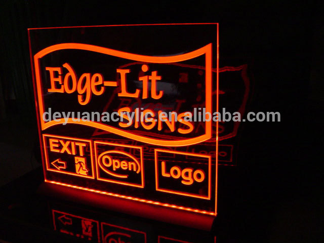 led sign board/ LED acrylic sign