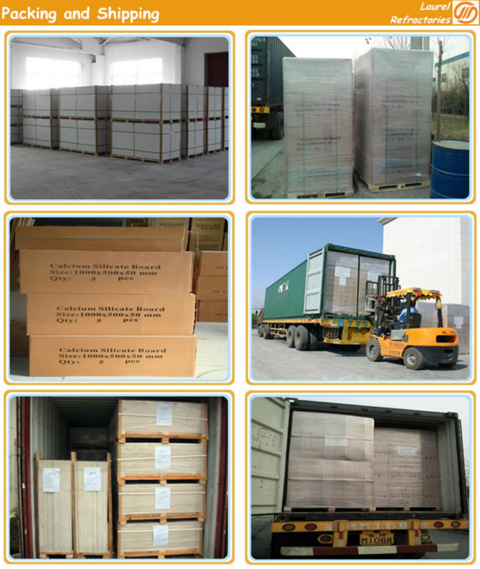 Standard Calcium Silicate Board LA-17 For Other High Temperature Ovens