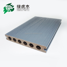outdoor waterproof hollow wpc PVC/PE/PP decking/flooring