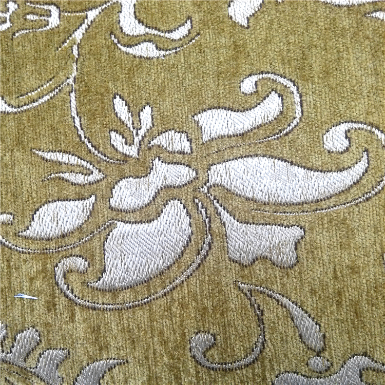 classical design jacquard upholstery velvet sofa fabric with new design