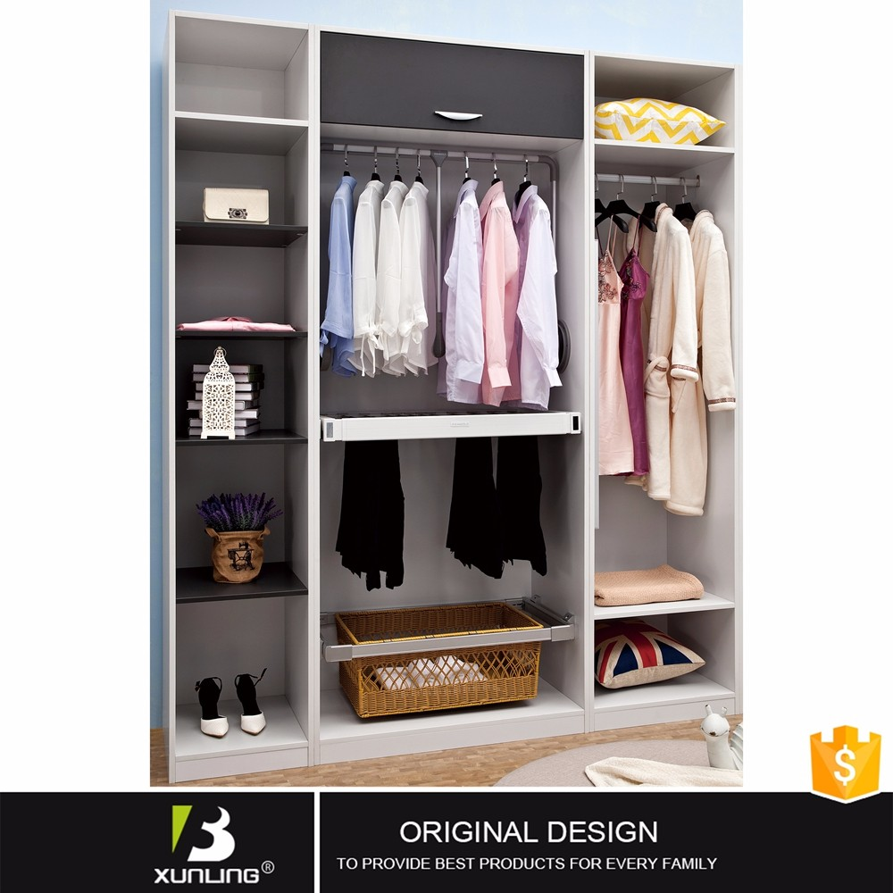 Flexible Furniture Design Panel Wardrobe Closet Built Sale