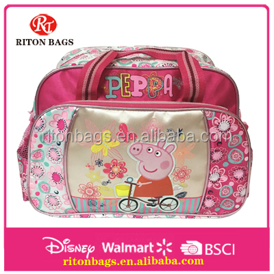 Creative New Design of Lovely Pig Brand Luggage Travel Bag For Young Lady