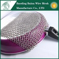 china factory steel wire square commodious metal scrubber kitchen cleaning with free sample