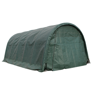 Portable carport metal frame waterproof PVC tarpaulin car canopy tent