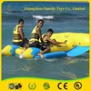 Inflatable water sport fly fish/fly fishing tude/fly fish banana boat for hot sale