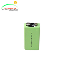 Ni-MH 9V 300mAh Rechargeable Battery Manufacturer with ISO9001,CE,UL certificates