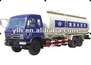 Dongfeng EQ1208 bulk cement transporter with cummins engine Load weight 10 tons