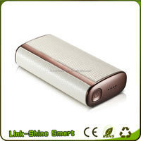 New promotional gift items super slim rohs power bank 5200mah with led light
