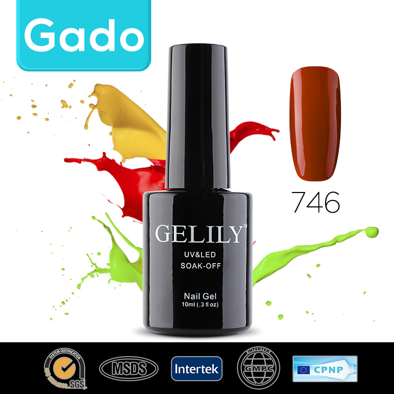 Gado Wholesale Gelily Colorful cosmetic glitter glue