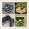 sidewalk paving mold Recycled Rubber pathway Patio Pavers/ tile DIY moulds for garden